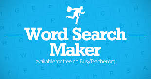 a word search in seconds with our free word search maker from 5x5