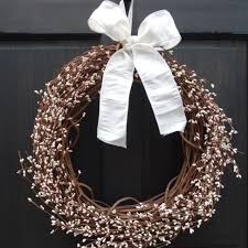 pale pink u0026 ivory pip berry wreath for spring summer door decor
