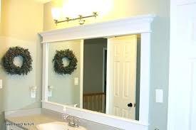 Mirror Framed Mirror Bathroom Bathroom Framed Mirrors Designs Unique Bathroom Mirror Ideas