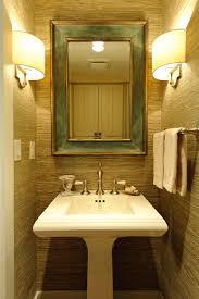 1 2 bath accent wall rattan wallpaper bathroom lights for the