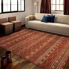 5x8 lodge area rug southwestern log cabin carpet western style