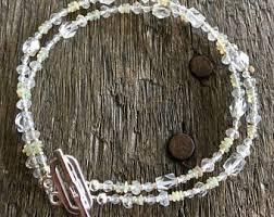 white topaz bracelet images White topaz bracelet etsy jpg