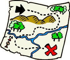 treasure map clipart clipart map many cliparts