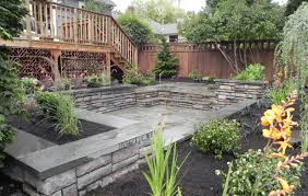 Affordable Backyard Landscaping Ideas Fascinate Back Yard Landscaping Ideas On A Budget Tags Backyard