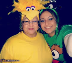 Big Bird Halloween Costumes Sesame Street Family Halloween Costumes Photo 2 6