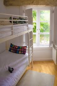Bunk Bed Tidy Room With Tidy Bunk Bed Against Window Stock Photo Image Of