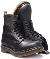 womens leather boots uk dr martens pascal virginia leather leather boots ebay