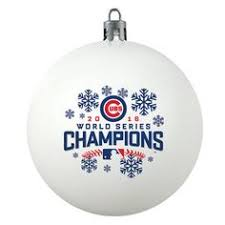 chicago cubs 2016 world series chions trophy ornament gift