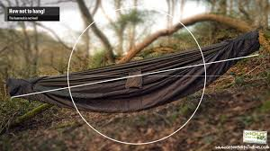 Cocoon Hammock Camping How To Spend The Night In The Woods With A Hammock