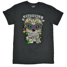 mardi gras shirts mardi gras sugar skull t shirt tees2urdoor