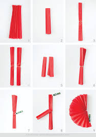 how to make fans photobooth backdrop tissue paper fan tutorial
