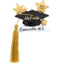 personalized graduation ornaments graduation bronner s christmas