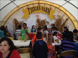 field trips parties and tour stops atthe farm