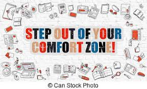Leaving Your Comfort Zone Stock Illustration Of Personal Growth Leave Your Comfort Zone