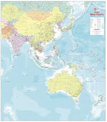 Pacific Region Map Mapsherpa Hema Maps