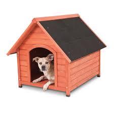 houses dogs walmart doskocil peak wood house for medium 50