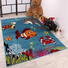 Kids Room Carpet by Kids Carpet Clown Fish Design Aqua Kids Room Carpet Turquoise