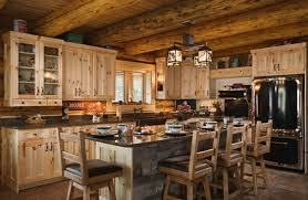 log cabin kitchen cabinets 16 amazing log house kitchens you have to see tin pig