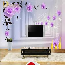 White Rose Bedroom Wallpaper Compare Prices On Purple Bedroom Wallpaper Online Shopping Buy