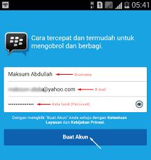 cara membuat yahoo mail di blackberry cara membuat akun blackberry id di bbm android 2017