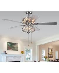 10 blade ceiling fan deals 10 off warehouse of tiffany kyana 6 light crystal 5