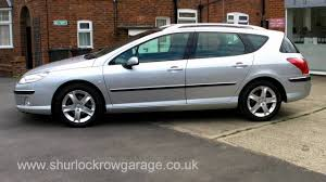 peugeot automatic for sale peugeot 407sw 2 0 hdi sport estate for sale youtube