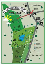Festival Map Sandford Festival Map Sandford Festival