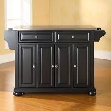 kitchen island ebay darby home co pottstown kitchen island with stainless steel top ebay