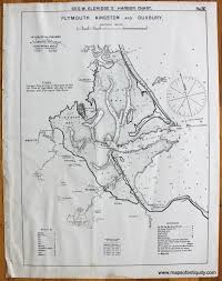Plymouth Massachusetts Map by Plymouth Kingston And Duxbury Antique Maps And Charts