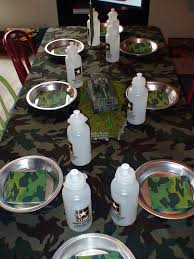 Army Party Birthday Party Ideas Army Party Birthday Party Ideas