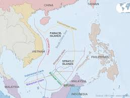 Spratly Islands Map Competing Claims In The South China Sea Viewed Through