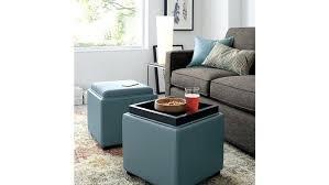Black Leather Ottoman Coffee Table Black Storage Ottoman Coffee Table With Trays Fabric Ottoman With