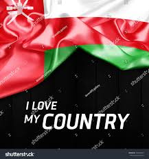 Oman Flag Wallpaper Love My Country Oman Abstract Flag Stock Illustration 504048955