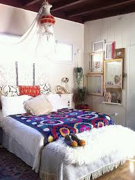 bohemian style interiors living rooms and bedrooms