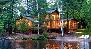 Log Cabin Plans With Wrap Around Porch Cottagecountry Parrysound House Plans 76554