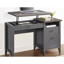 Mainstays L Shaped Desk With Hutch Multiple Finishes by Ameriwood Furniture Quinn Lift Top Desk Gray