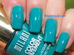 milani color statement nail polish blues and greens beautyjudy