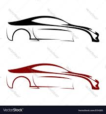 car logos calligraphic car logos royalty free vector image