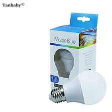 light bulbs controlled by iphone tanbaby 4 5w magic blue bluetooth smartphone control multicolor