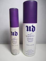 urban decay all nighter long lasting makeup setting spray duo