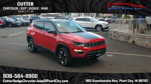 2017 jeep compass sunroof new 2017 jeep compass trailhawk sport utility in pearl city