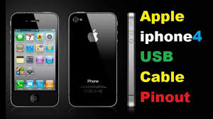 apple iphone4s usb cable pinout youtube