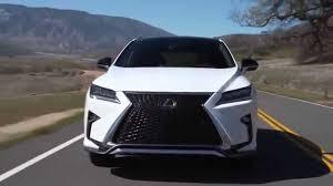lexus crossover inside lexus rx 350 f sport 2016 luxury crossover youtube
