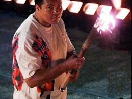 When Did Muhammad Ali Light The Olympic Torch The Battle With Parkinson U0027s Ali Helped Put Face On Once Hidden