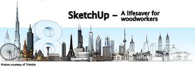 sketchup a lifesaver for woodworkers
