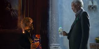 Top 5 Most Controversial 2015 Super Bowl Ads Daily - morgan freeman and peter dinklage have an epic lip sync battle in
