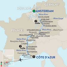 Europe Map With Rivers by River Cruise With Barcelona Spain Vacation Avalon Waterways
