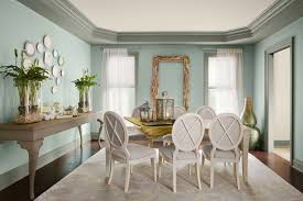 dining room color ideas with nice cyan wall decor dining room