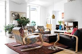 Simple Living Room Furniture Designs Photo Via Too Be 8 Modern Bohemian Pinterest Black Leather