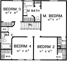 simple four bedroom house plans four bedroom house floor plan bedroom student apartments with